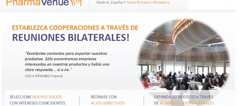 Pharmavenue Madrid 2015